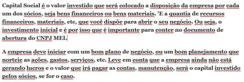 Definicao de Capital Social em Portugues